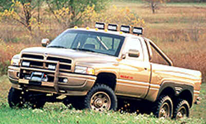 T Rex Dodge Truck